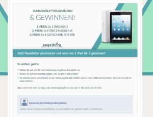 Engelhorn Gewinnspiel