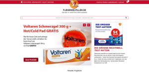 fliegende Pillen online apotheke screenshot